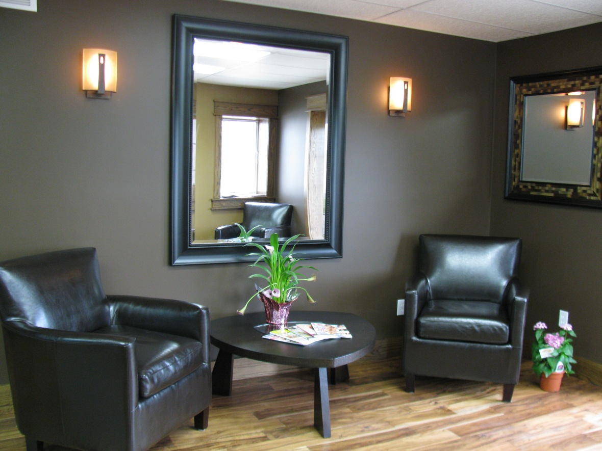 Photo of Luminosity Salons waiting room in Hastings.